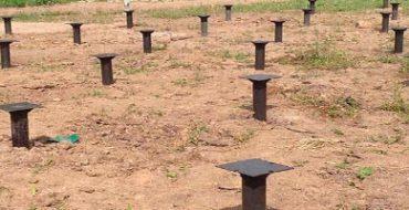 Устройство фундамента сваи в Химках